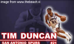 Tim Duncan of St. Croix